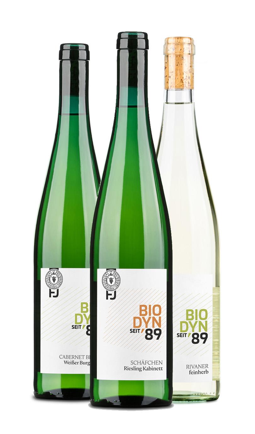 12er Paket Weißwein feinherb / mild