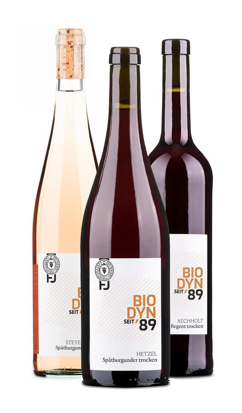 12er Paket Rotwein / Rosé